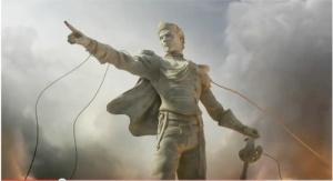 glorified self statue