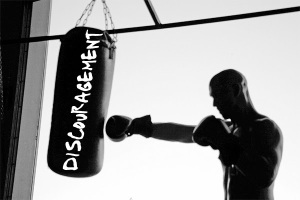punching-bag discouragement