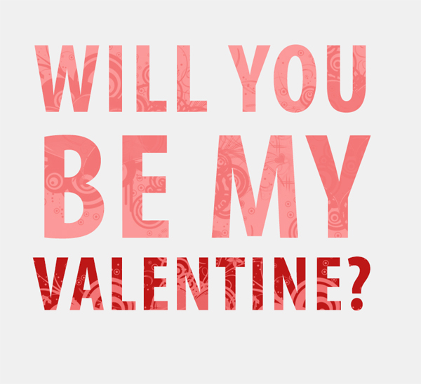 Will You Be My Valentine Chris Jackson